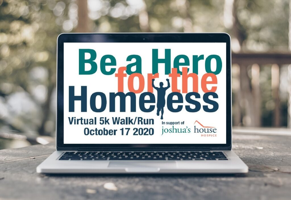 Be a Hero for the Homeless Laptop